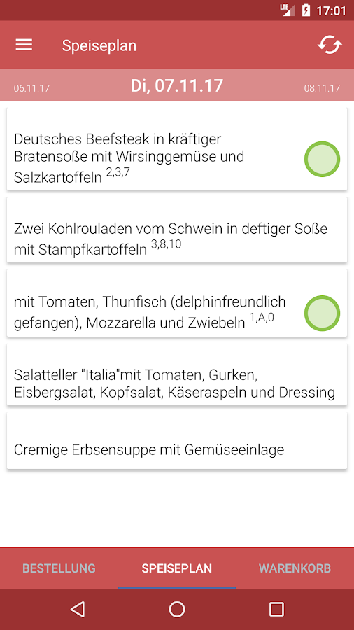 Stadtküche Menü - Android Apps on Google Play