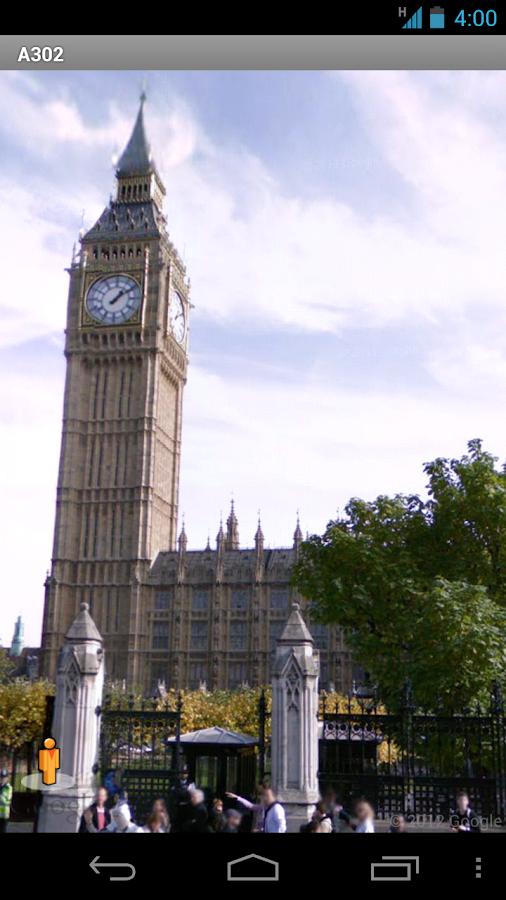 Street View on Google Maps- screenshot