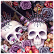 Download Colorful Flower Skull Fancy Theme For PC Windows and Mac