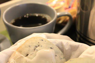 """Photo: Home...(actually """"inn"""" ;) -made blueberry scone and coffee  I love vacation :)  #coffeethursday   +Coffee Thursdaycurated by +Cheryl Cooperand +Jason Kowing"""
