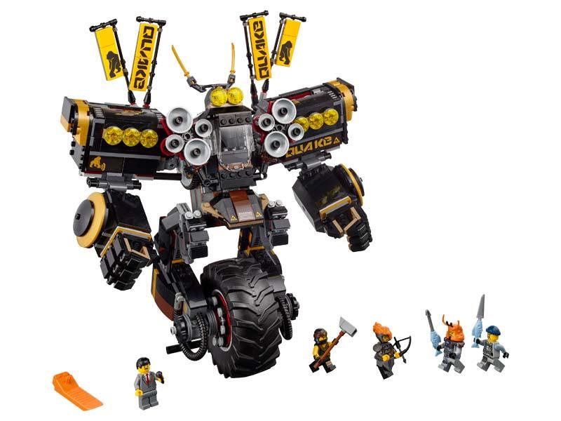 Contenido de Lego® 70632 Robot Sísmico