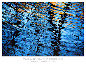 Photo: Ripples on the River Wharfe  I prefer to shoot autumn leaves in diffused light to make the most of the colours, so when the sun came out on a visit to Strid Wood one year I was on the lookout for alternative subjects. This abstract of ripples in the river was just the thing, with a hint of colour from sunlight on the leaves reflected in the water.  This version was shot at a fast shutter speed to create this effect...  Canon EOS 5D, 24-105mm at 105mm, 1/1000s at f4