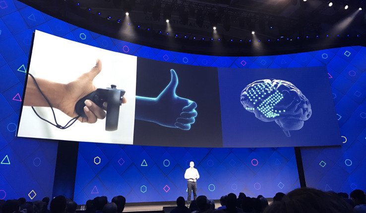Conexão cerebral do Facebook