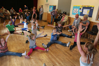 Photo: Lucy Thynne Street-Dance Workshop © Priston Festival 2012