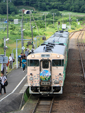 JR北海道 観光列車「風っこそうや」 音威子府にて_09