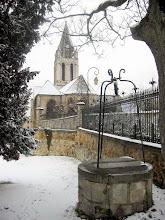 Photo: St-Maclou et les Terrasses sous la neige