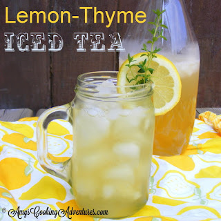 Lemon-Thyme Iced Tea