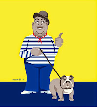 Photo: Fats Waller with his dog 2014