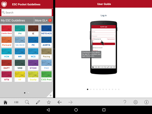 ESC Pocket Guidelines 4.4 Screenshots 6