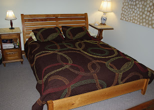 Photo: The bed looking very comfortable in its new home.