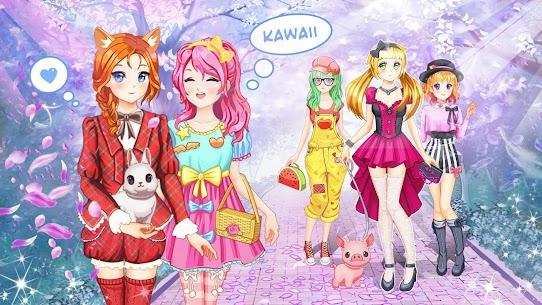 Anime Kawaii Dress Up 1