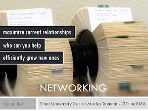Photo: NETWORKING - Never has it been so easy to maximize your current relationships and efficiently develop new ones. Concentrate on helping others.