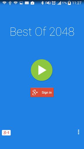 Best Of 2048