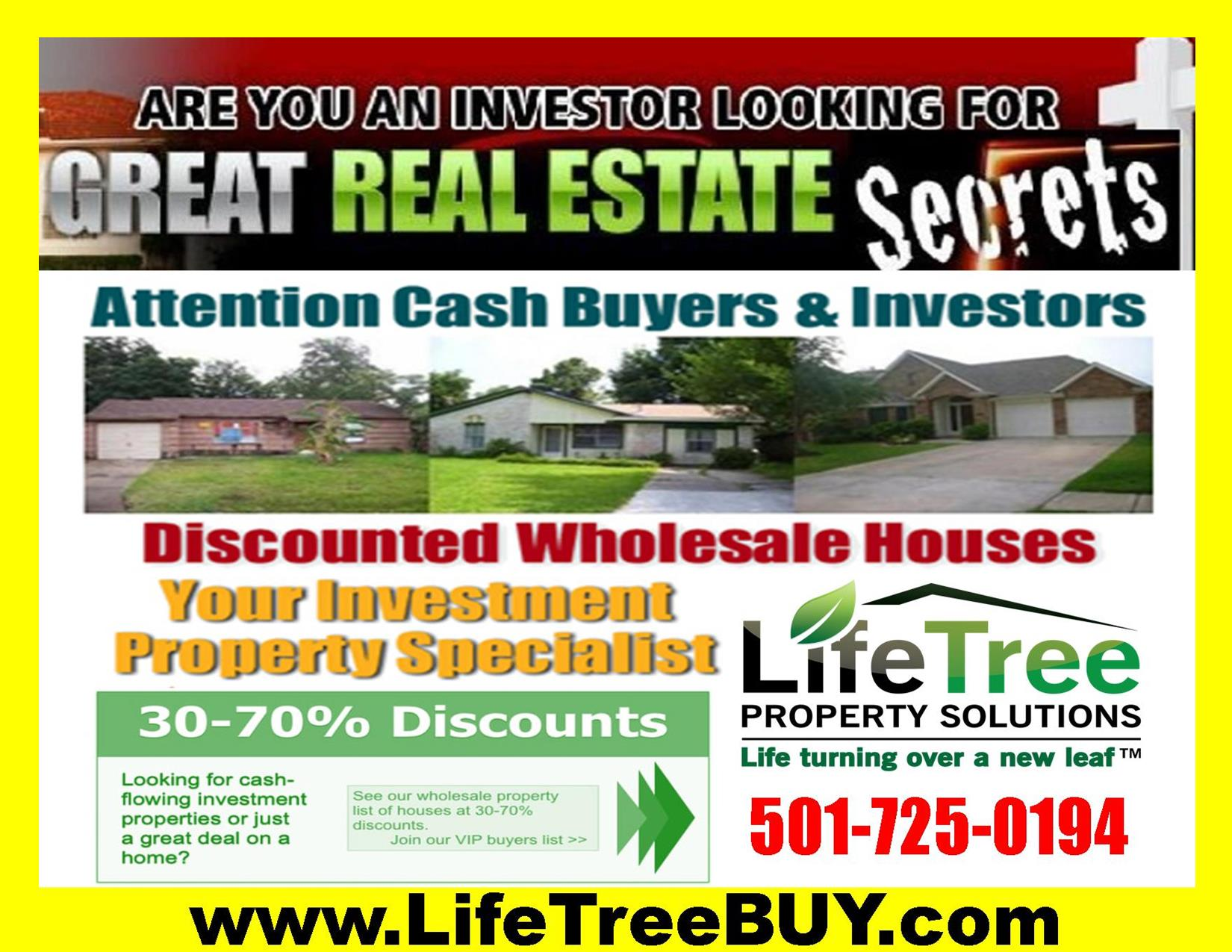 Investment Properties, Great Real Estate Deals, Discounted
