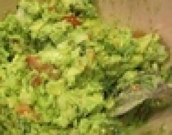 Chunky Guacamole With Tomato Recipe