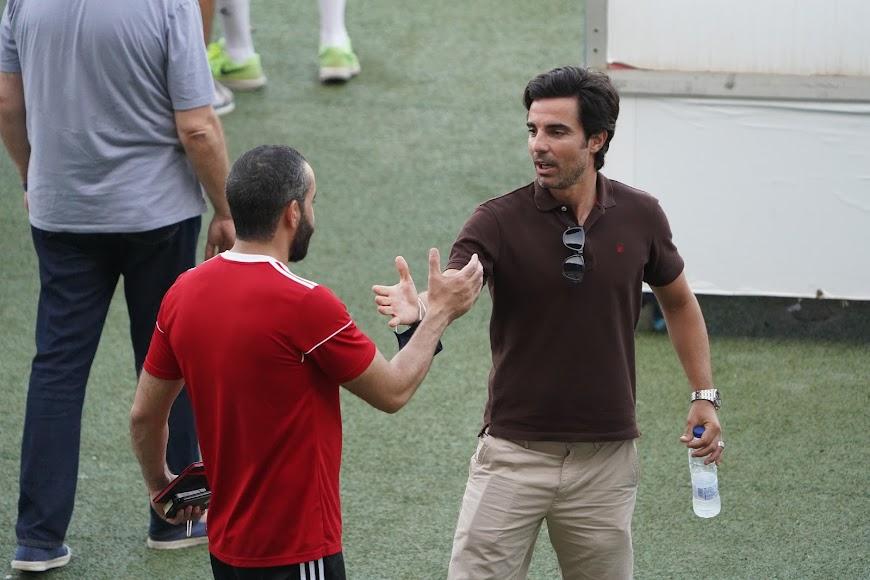 Con Mohamed El Assy.