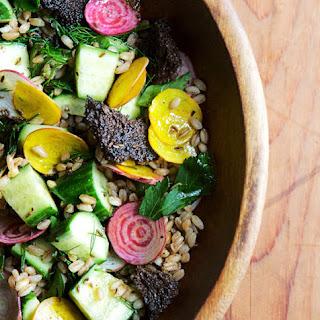 Farro and Cucumber Salad