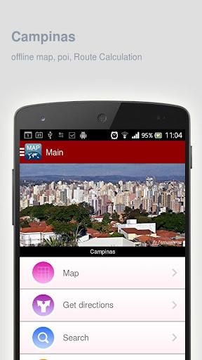 Campinas Map offline