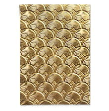 Sizzix 3-D Textured Impressions Embossing Folder - Art Deco