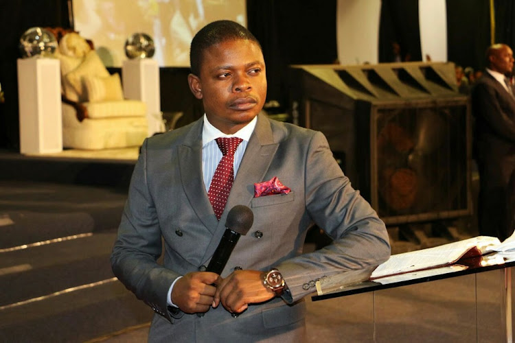 Prophet Shepherd Bushiri. File photo.