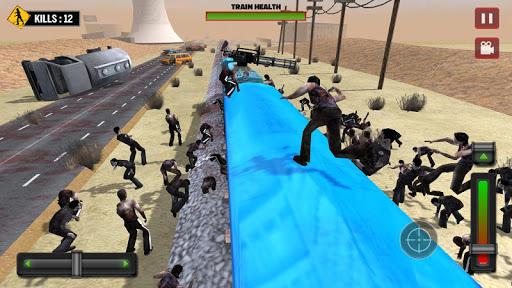 Train shooting - Zombie War apkpoly screenshots 9