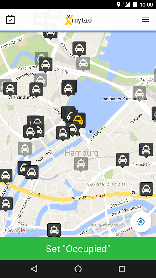 mytaxi App for Taxi Drivers- screenshot