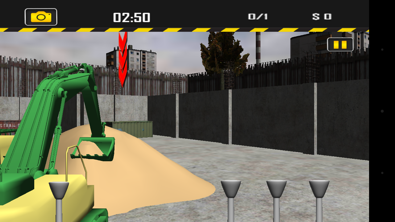 3d excavator simulator android apps on google play