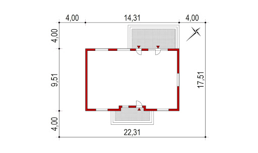 Domek Mokka 053 ES - Sytuacja