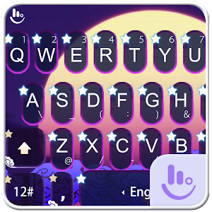 Download: TouchPal Moon Night Keyboard Unlimited MOD