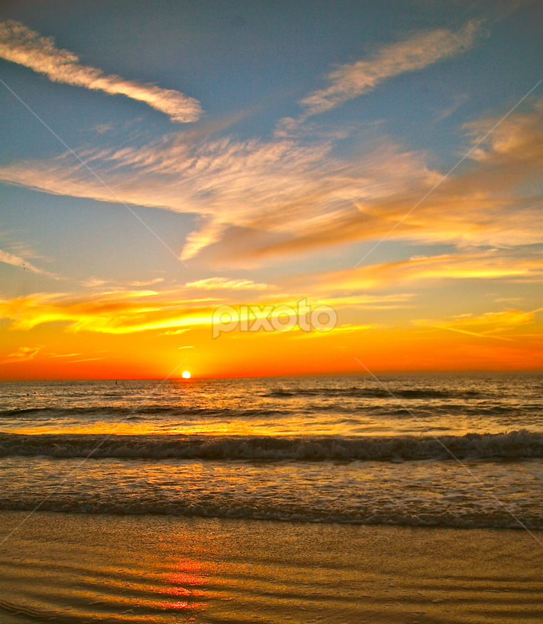 { Eye's in The Sky } by Jeffrey Lee - Landscapes Waterscapes ( sunsets, clearwater beach sunsets, florida sunsets,  )