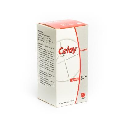 Cetirizina Celay Solución Oral 5Mg/5Ml X 100 Ml Cofasa