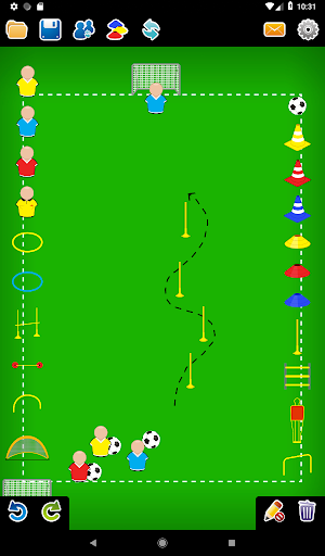 Coach Tactic Board: Soccer 1.2.2 screenshots 10