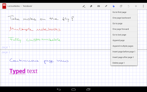 LectureNotes screenshot 4