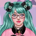 Pastel Goth Fashion - Make Up & Dress Up icon