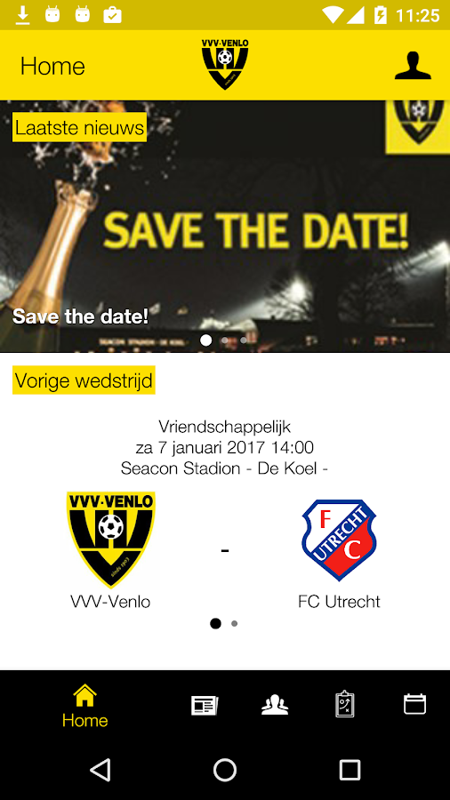 VVV-Venlo Business Netwerk App- screenshot