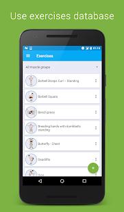 Tracker: Workout & Gym Log - náhled