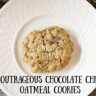 Outrageous Chocolate Chip Oatmeal Cookies