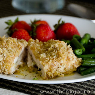 Baked Chicken Kiev (a buttery feast of goodness!)