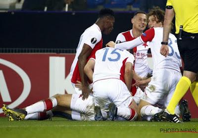 Genk verloor met 1-4 van Slavia Praag