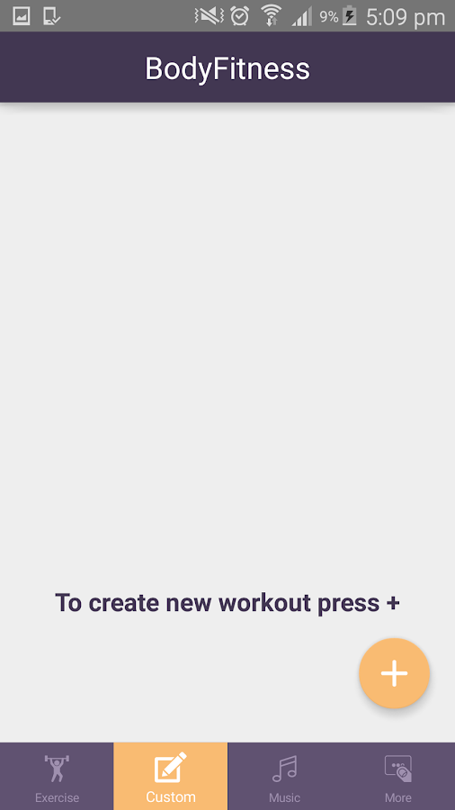 Personal Fitness Trainer- screenshot