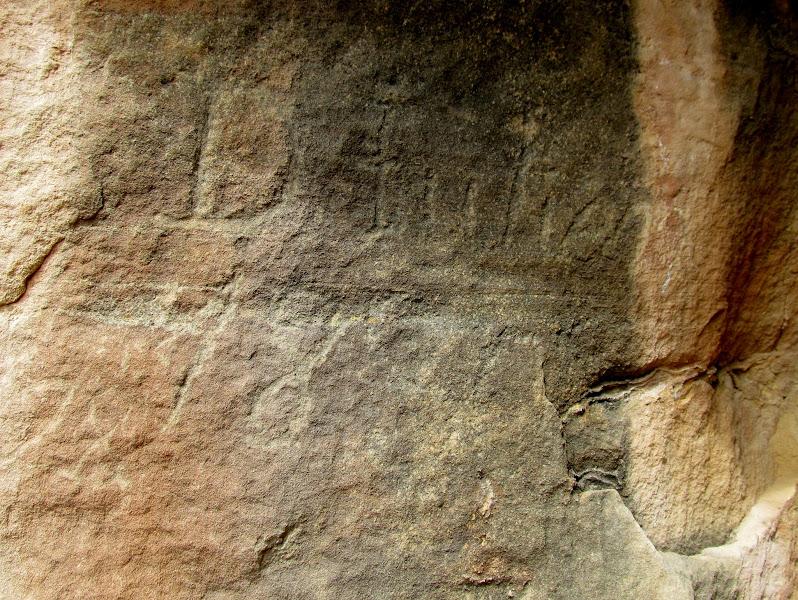 Photo: The oldest known Denis Julien inscription:  D. Julien 1830
