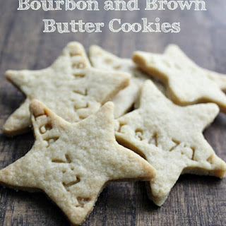 Bourbon and Brown Butter Cookies.