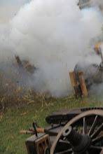 Photo: Last fire of Margo...
