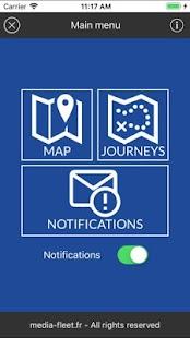Media-Fleet GPS tracking for professionnals - náhled
