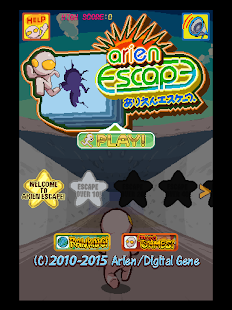 Arien Escape : Run & Jump- screenshot thumbnail