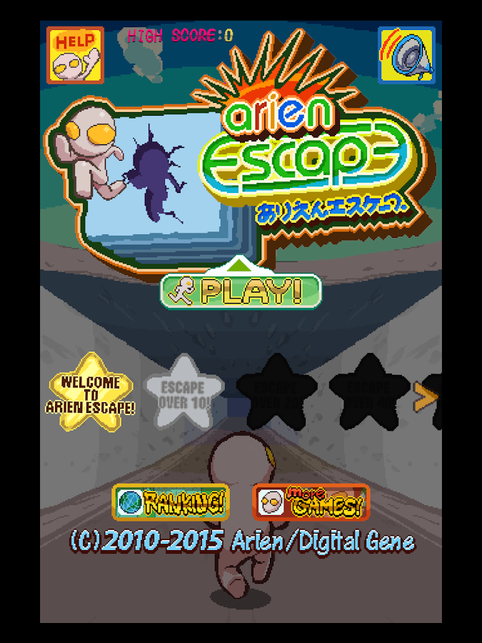 Arien Escape : Run & Jump- screenshot