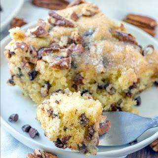 Chocolate Chip Pancake Coffee Cake Recipe