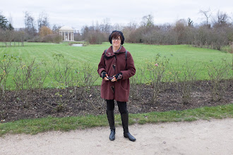 Photo: Kelly near the Temple of love