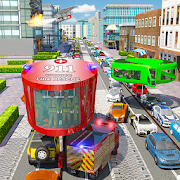 Download Full Fire Rescue Gyroscopic Bus: City Ambulance Driver 1.2 APK