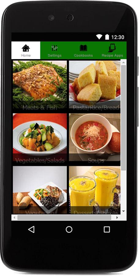Free healthy food recipes android apps on google play free healthy food recipes screenshot forumfinder Choice Image